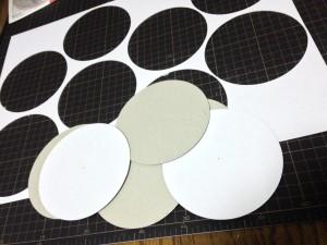 高台の円板