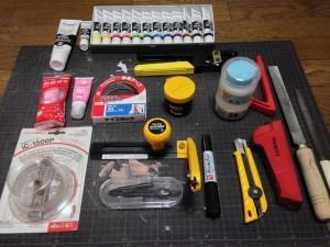 工作に使用する道具