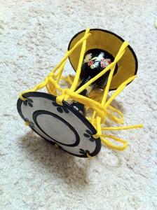 小鼓 紙工作 ペーパークラフト