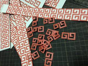 卍のカット…1個5分