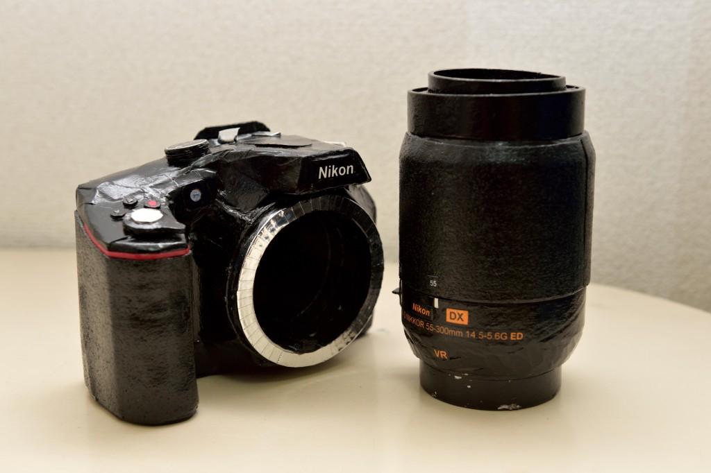 Nikon 紙工作 カメラ 一眼 レフ