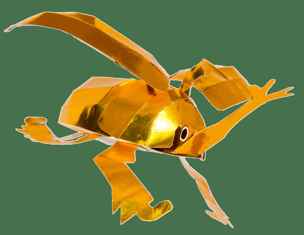 金のカブトムシ